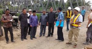 Peninjauan Pembangunan Reklamasi Batang Agam Payakumbuh oleh Komisi C DPRD Payakumbuh