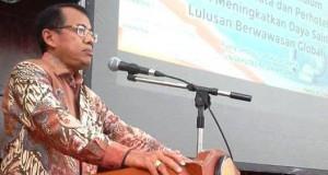 Rektor UNP, Prof Ganefri PhD