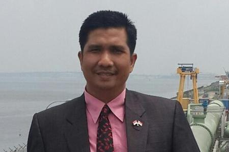 Erisman Ketua DPRD Kota Padang/ Foto Net