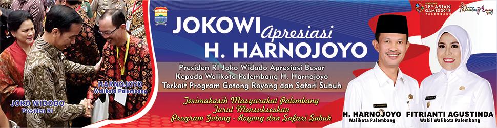 banner jokowi harno