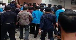 Demo Mahasiswa, Tangkapan Layar Video Viral Youtuber