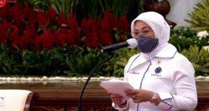Menaker Ida Fauziyah/ Youtube Sekretariat Presiden
